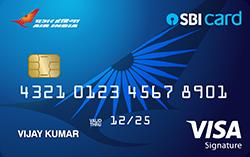 Air India SBI Signature Card