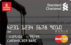Standard Chartered Emirates World Credit Card