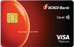 ICICI Bank Coral Contactless Credit Card