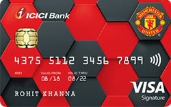 Manchester United Signature Credit Card