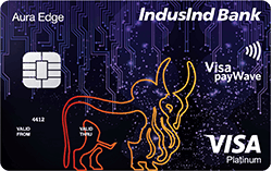 IndusInd Bank Platinum Aura Edge Credit Card