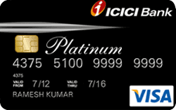 ICICI Platinum Chip  Credit Card - Visa