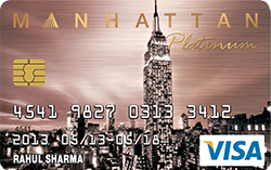 Standard Chartered Manhattan Platinum Credit Card